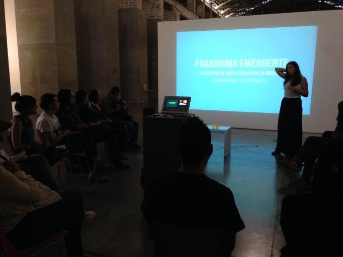 Paradigma emergente: encuentro de arte+educación enmuseos